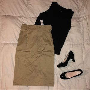 NWT - High-Rise Pencil Skirt - All Season Stretch